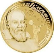 Australia 1 Dollar Space Theme - Astronomers 2009 KM# 1256 ASTRONOMERS GALILEO GALLEI P EM coin reverse
