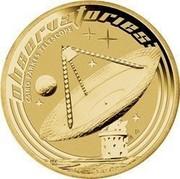 Australia 1 Dollar Space Theme - Observatories 2009 KM# 1259 OBSERUATORIES CSIRO PARKES TELESCOPE P EM coin reverse