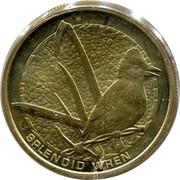 Australia 1 Dollar Splendid Wren 2008 KM# 1172 SPLENDID WREN P WR coin reverse