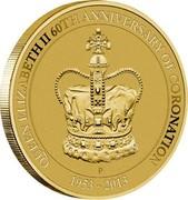 Australia 1 Dollar The Queen's Elizabeth II Coronation 2013 KM# 1944 QUEEN ELIZABETH II 60TH ANNIVERSARY OF CORONATION 1953 - 2013 P coin reverse