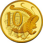 Australia 10 Cents Australian Miniature Money 2012 Proof KM# 2035 10 SD coin reverse