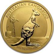 Australia 100 Dollars Australian Kangaroo 2012 P Proof KM# 1686 AUSTRALIAN KANGAROO 2012 1 OZ 9999 GOLD P WR coin reverse