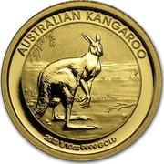 Australia 15 Dollars Australian Kangaroo 2013 KM# 1989 AUSTRALIAN KANGAROO 2013 1/10 OZ 9999 GOLD P TV coin reverse