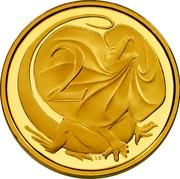 Australia 2 Cents Australian Miniature Money 2012 Proof KM# 2033 2 coin reverse