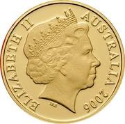 Australia 2 Cents Frilled-Neck Lizard 2006 KM# 768b ELIZABETH II AUSTRALIA 2016 IRB coin obverse