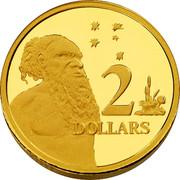 Australia 2 Dollars Australian Miniature Money 2012 Proof KM# 2039 2 DOLLARS coin reverse