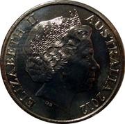 Australia 20 Cents Merchant Navy 2012 KM# 1857 ELIZABETH II AUSTRALIA 2012 IRB coin obverse