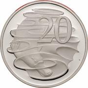 Australia 20 Cents Platypus 2006 KM# 66a 20 SD coin reverse
