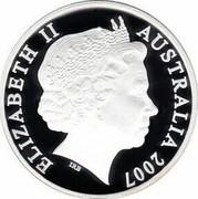 Australia 20 Cents Year of the Surf Lifesaver 2007 B Proof KM# 820a ELIZABETH II AUSTRALIA 2007 IRB coin obverse