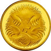 Australia 5 Cents Australian Miniature Money 2012 Proof KM# 2034 5 SD coin reverse