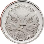 Australia 5 Cents Echidna 2006 KM# 64a 5 SD coin reverse