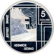 Australia 5 Dollars Jeffrey Smart 2006 KM# 788 JEFFREY SMART KESWICK SIDING 5 DOLLARS coin reverse
