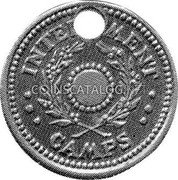 Australia 5 Shillings (1 Crown) ND(1943) KM# Tn5.3 Token coinage INTERNMENT CAMPS coin obverse