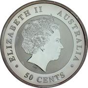 Australia 50 Cents Australian Koala 2013 P Proof KM# 1978a ELIZABETH II AUSTRALIA 50 CENTS IRB coin obverse