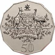 Australia 50 Cents (Centenary of Federation - Australia) KM# 491.1 AUSTRALIA 50 coin reverse