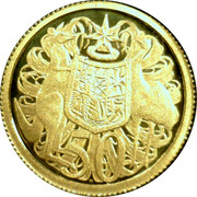 Australia 50 Cents Coat of Arms 2012 KM# 2037 50 coin reverse