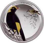 Australia 50 Cents Regent Bowerbird 2013 KM# 2140 REGENT BOWERBIRD P NM coin reverse