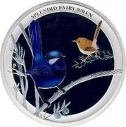 Australia 50 Cents Splendid Fairy-Wren 2013 KM# 2057 SPLENDID FAIRY-WREN P NM coin reverse