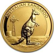 Australia 50 Dollars Australian Kangaroo 2012 KM# 2083 AUSTRALIAN KANGAROO 2012 1/2 OZ 9999 GOLD P WR coin reverse