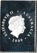 Australia 55 C Australia Post 2009 KM# 1254 ELIZABETH II AUSTRALIA 2009 IRB coin obverse
