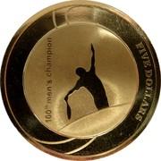 Australia Five Dollars 100th Mens Champion Australian Open 2012 KM# 1739 100TH MEN'S CHAMPION FIVE DOLLARS coin reverse