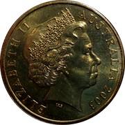 Australia One Dollar Australia's Vietnam Forces 2003 KM# 803 ELIZABETH II AUSTRALIA 2003 IRB coin obverse