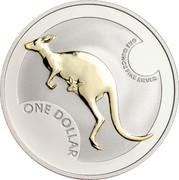 Australia One Dollar Kangaroo 2006 KM# 837a ONE DOLLAR ONE OUNCE FINE SILVER coin reverse