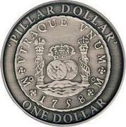 Australia One Dollar Pillar Dollar 2006 KM# 826 PILLAR DOLLAR ONE DOLLAR VTRAQUE VNUM 1758 coin reverse