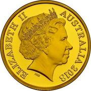 Australia Ten Dollars Standing Kangaroo 2013 Proof KM# 2031 ELIZABETH II AUSTRALIA 2013 IRB coin obverse
