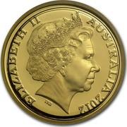 Australia Ten Dollars Wheat Sheaf Dollar 2012 KM# 2019 ELIZABETH II AUSTRALIA 2012 IRB coin obverse
