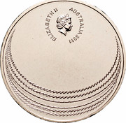 Australia Twenty Cents The Ashes 2011 KM# 1517 ELIZABETH II AUSTRALIA 2011 IRB coin obverse