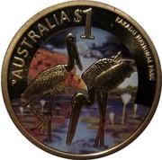 Australia $1 Celebrate Australia - Kakadu National Park 2012 KM# 1823 AUSTRALIA $1 KAKADU NATIONAL PARK P coin reverse