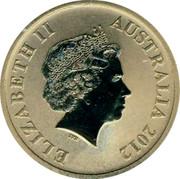 Australia $1 Celebrate Australia - Lord Howe Island Group 2012 KM# 1820 ELIZABETH II AUSTRALIA 2012 IRB coin obverse