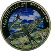 Australia $1 Celebrate Australia - Lord Howe Island Group 2012 KM# 1820 AUSTRALIA $1 LORD HOWE ISLAND GROUP P coin reverse