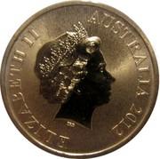Australia $1 Celebrate Australia - Uluru-Kata Tjuta National Park 2012 KM# 1821 ELIZABETH II AUSTRALIA IRB coin obverse