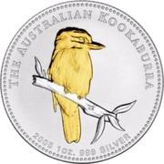 Australia 1 Dollar Australian Kookaburra 2005 KM# 883a THE AUSTRALIAN KOOKABURRA 2005 1OZ. 999 SILVER SA coin reverse