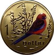 Australia 1 Dollar Crimson Rosella 2011 KM# 1617 1 DOLLAR coin reverse