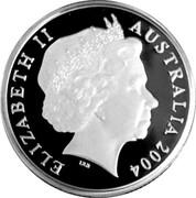 Australia 1 Dollar Dollar Decade 2004 ELIZABETH II AUSTRALIA 2004 IRB coin obverse