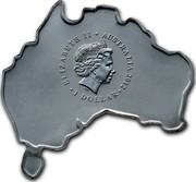 Australia 1 Dollar Emu 2012 KM# 1792 ELIZABETH II AUSTRALIA 2012 1 DOLLAR IRB coin obverse
