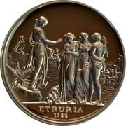 Australia 1 Dollar Etruria 2010 KM# 1568 ETRURIA 1789 coin reverse