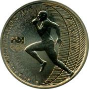 Australia 1 Dollar Faster 2012 KM# 1804 2012 AUSTRALIAN OLYMPIC TEAM FASTER coin reverse