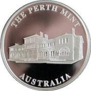 Australia 1 Dollar Kangaroo in color 2010 Proof KM# 1516 THE PERTH MINT AUSTRALIA coin obverse