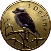 Australia 1 Dollar Kookaburra 2011 KM# 1618 1 DOLLAR coin reverse