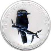 Australia 1 Dollar The Australian Kookaburra 2009 KM# 1293 THE AUSTRALIAN KOOKABURRA 2009 1 OZ. 999 SILVER P20 SA coin reverse