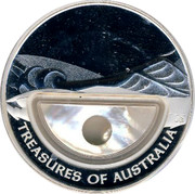 Australia 1 Dollar Treasures of Australia 2011 KM# 1564 TREASURES OF AUSTRALIA JG coin reverse