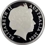 Australia 1 Dollar Waltzing Matilda 2004 ELIZABETH II AUSTRALIA 2004 IRB coin obverse