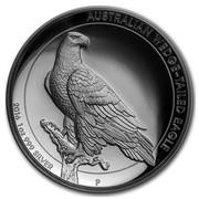 Australia 1 Dollar Wedge-Tailed Eagle 2016 P KM# 2215 AUSTRALIAN WEDGE-TAILED EAGLE 2016 1 OZ 999 SILVER P JM coin reverse