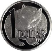 Australia 1 Dollar Wombat 2004 Proof 1 DOLLAR coin reverse