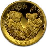 Australia 100 Dollars Australian Koala 2011 KM# 1608 1 OZ 9999 GOLD P EM coin reverse