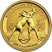 Australia 15 Dollars Australian Kangaroo 2010 KM# 1362 AUSTRALIAN KANGAROO 2010 1/10 OZ 9999 GOLD P WR coin reverse